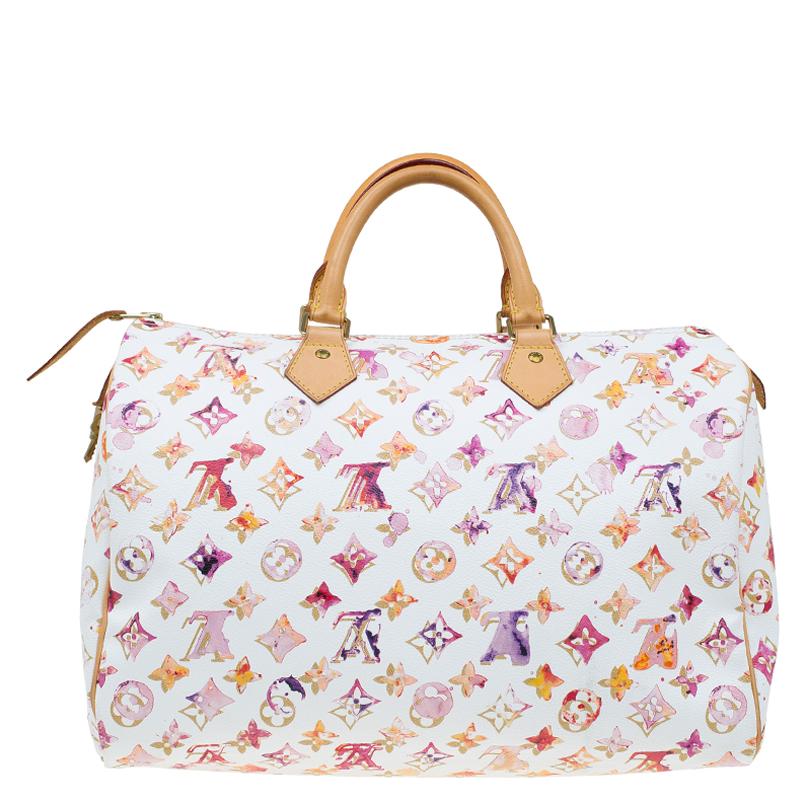 1aff3b60b5e1 ... Louis Vuitton Monogram Canvas Watercolor Aquarelle Richard Prince Speedy  35 Bag. nextprev. prevnext