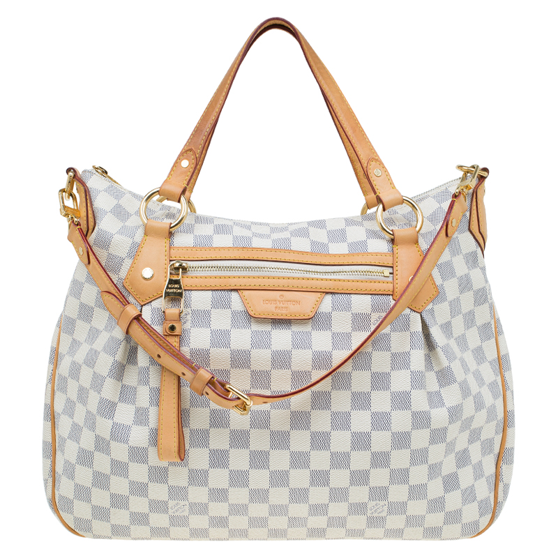 e88f6b613295 ... Louis Vuitton Damier Azur Canvas Evora MM Bag. nextprev. prevnext