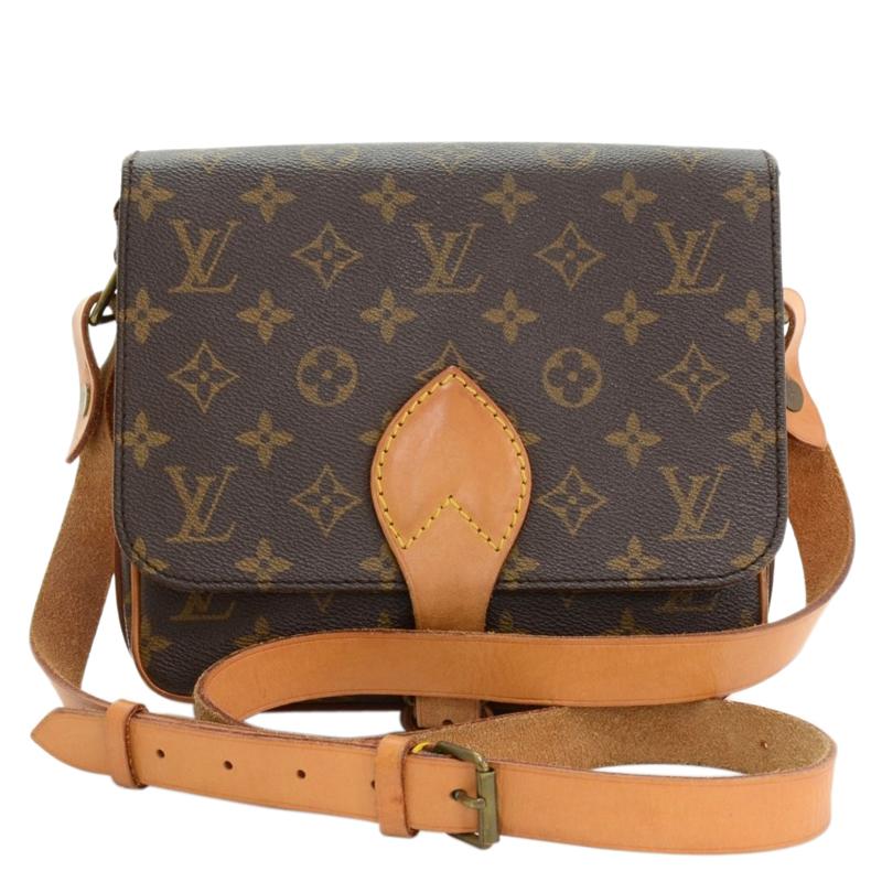 2469c49e7ebd Buy Louis Vuitton Monogram Canvas Cartouchiere MM Bag 64310 at best price