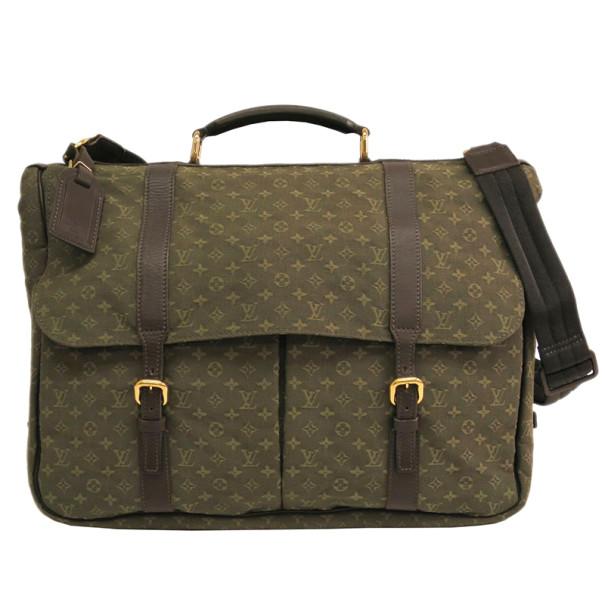 Louis Vuitton Monogram Mini Canvas Sac Maman Shoulder Bag
