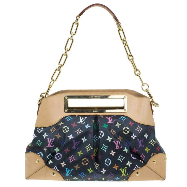 Louis Vuitton Black Multicolor Monogram Canvas Judy Bag Mm Nextprev Prevnext