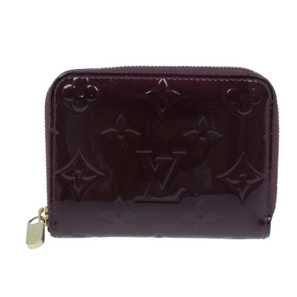 73d2f5077ac23 Louis Vuitton Vernis Zippy Wallet Amarante - Best Photo Wallet ...