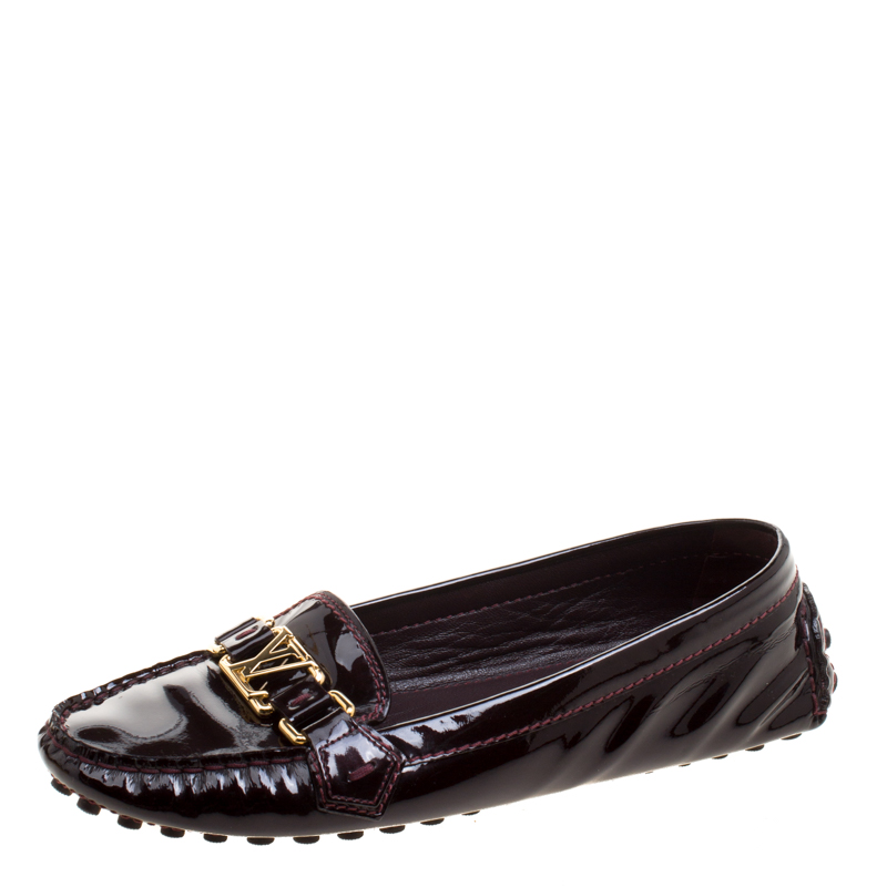 Louis Vuitton Burgundy Patent Leather
