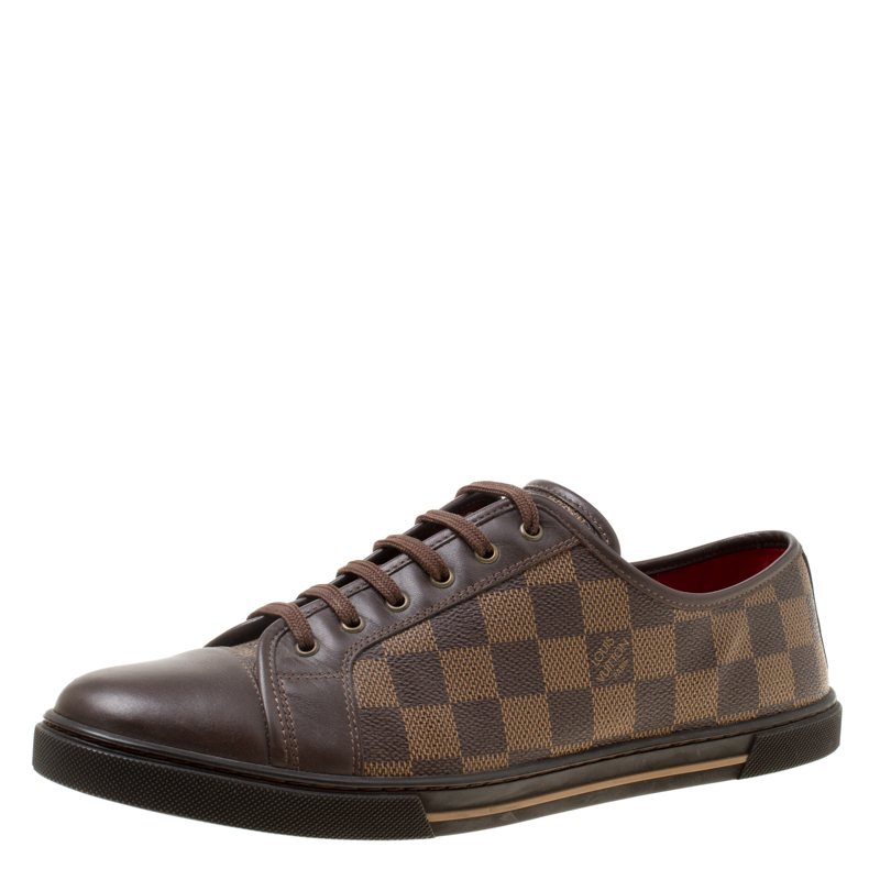 Louis Vuitton Damier Ebene And Leather