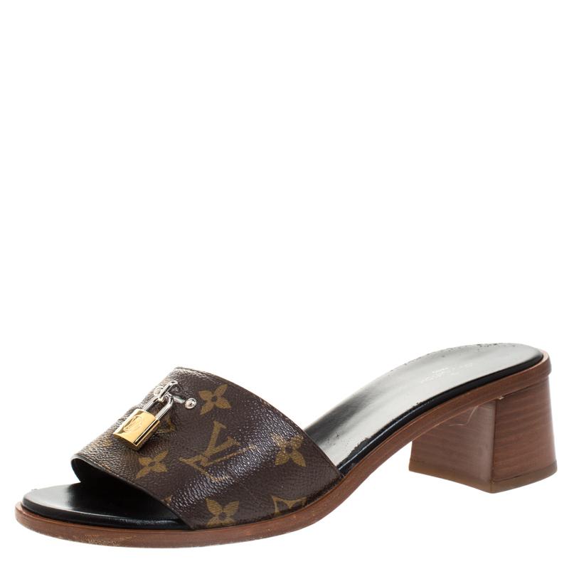 Mule Sandals Size 39 Louis Vuitton | TLC