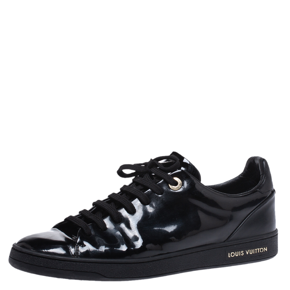 Patent Leather Frontrow Sneakers Size