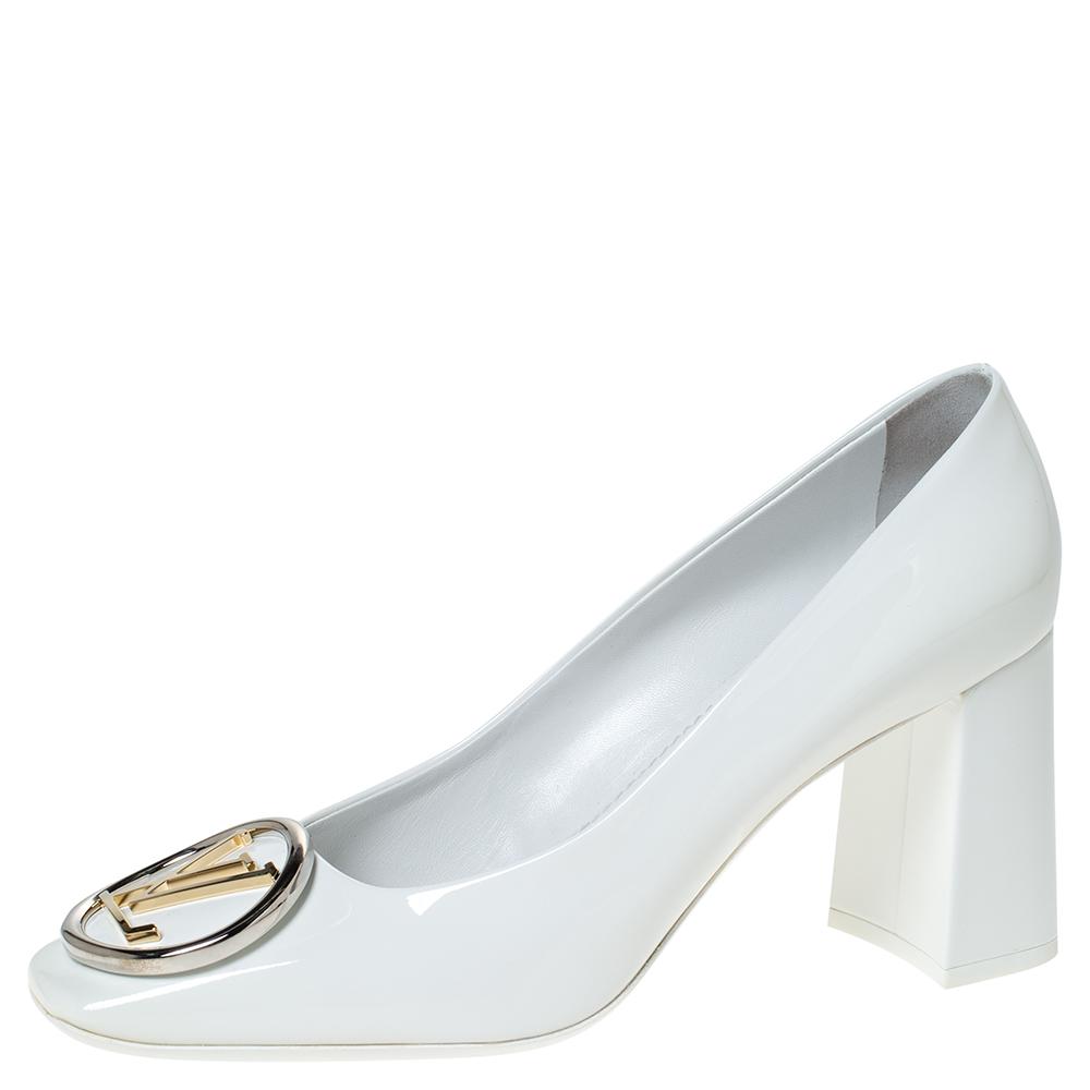 silver louis vuitton heels