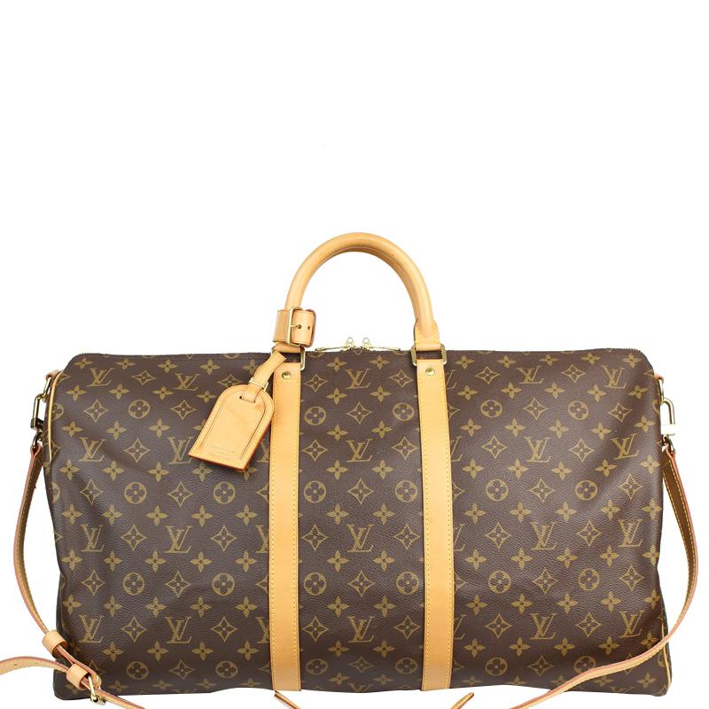 48ebc8fa9 ... Louis Vuitton Monogram Canvas Keepall Bandouliere 55 Bag. nextprev.  prevnext