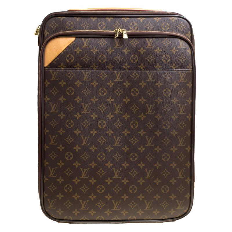 2fc015ee355f Buy Louis Vuitton Monogram Canvas Business Pegase Legere 55 Luggage ...