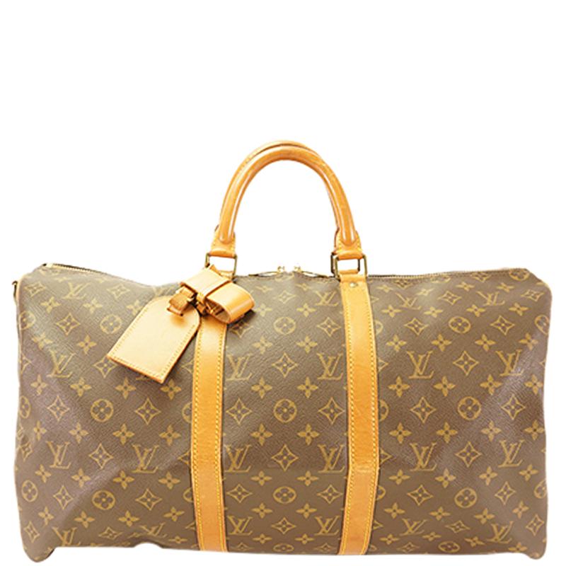 fd331a98849e ... Louis Vuitton Monogram Canvas Keepall Bandouliere 50 Bag. nextprev.  prevnext