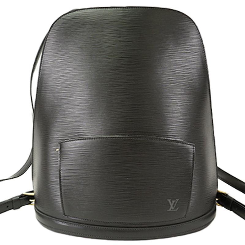 حقيبة ظهر لوي فيتون غوبلينز جلد إيبي سوداء