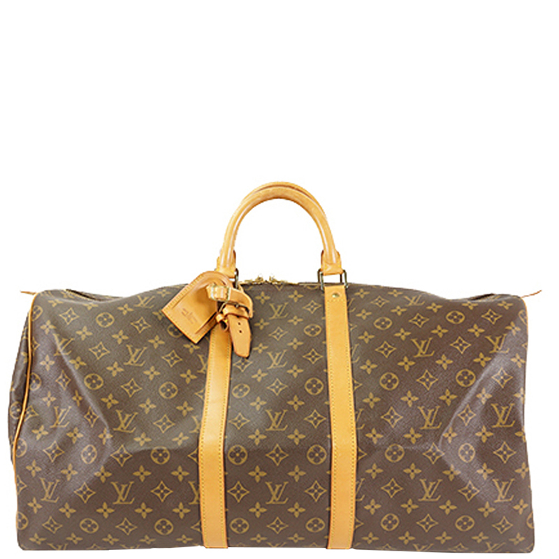 de41f34fb357 Louis Vuitton Monogram Canvas Keepall 55 Bag. nextprev. prevnext ...