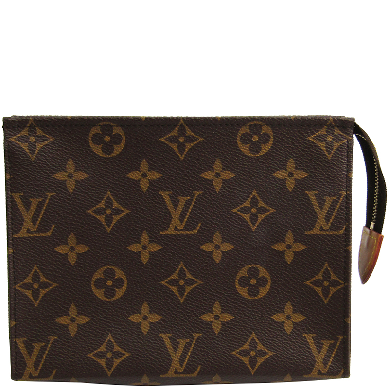 03d6e929cb1 Buy Louis Vuitton Monogram Canvas Toiletry Pouch 19 175107 at best ...