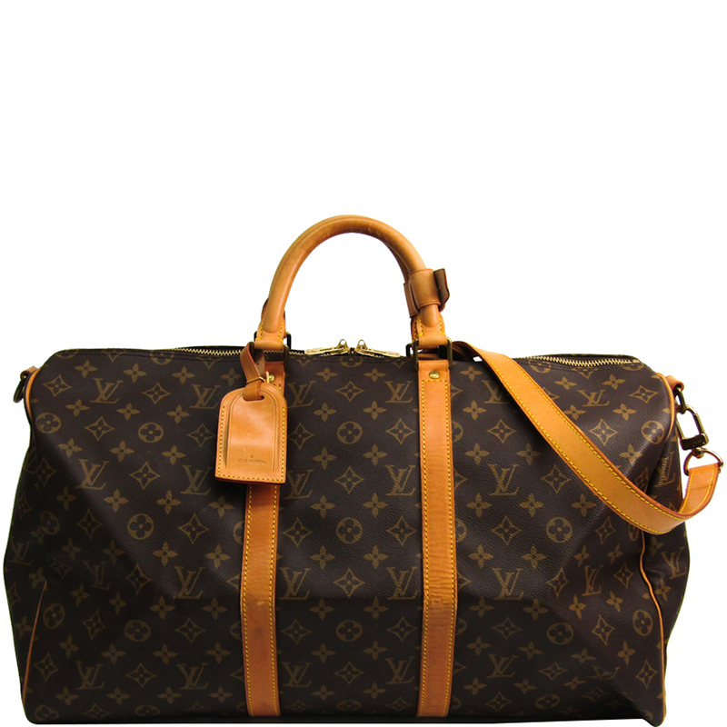 0df530191c6 ... Louis Vuitton Monogram Canvas Keepall Bandouliere 50 Bag. nextprev.  prevnext
