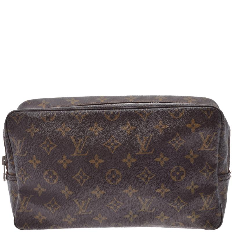 abf0ce41faae ... Louis Vuitton Monogram Canvas Trousse Toilette 28 Cosmetic Case.  nextprev. prevnext
