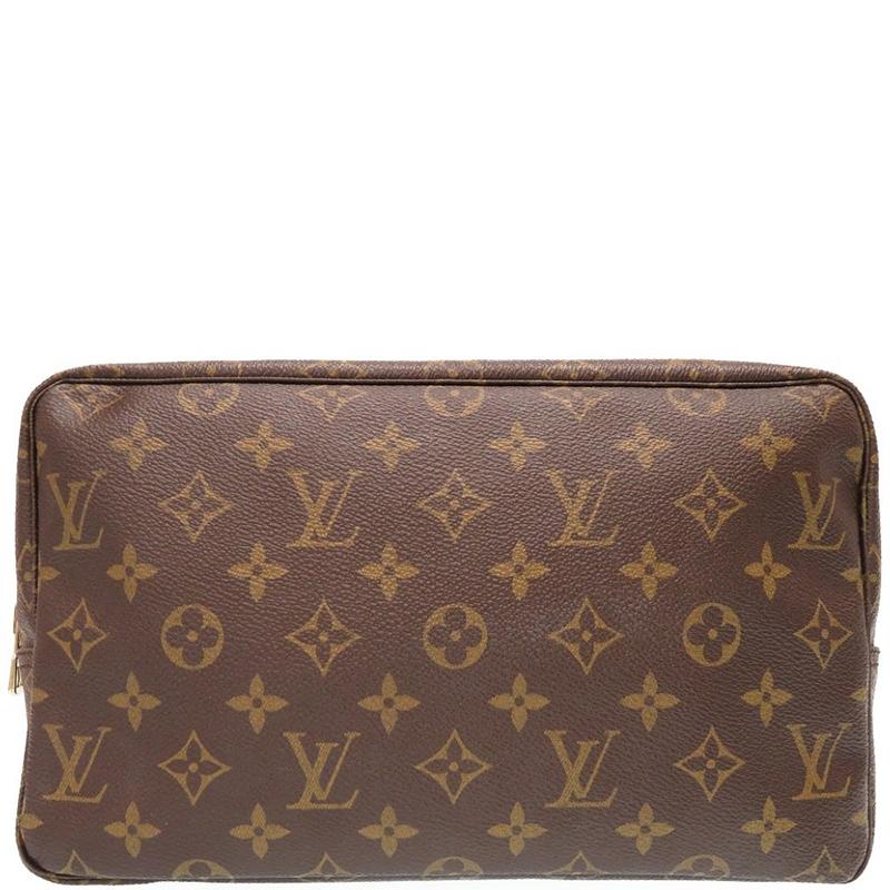 234f1b4ba501 Buy Louis Vuitton Monogram Canvas Trousse Toilette 28 Cosmetic Case ...