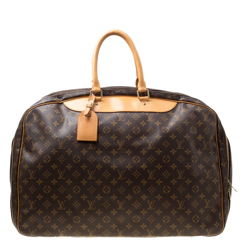 653861bfb6a7 ... Louis Vuitton Monogram Canvas Alize 2 Poche Soft Suitcase. nextprev.  prevnext