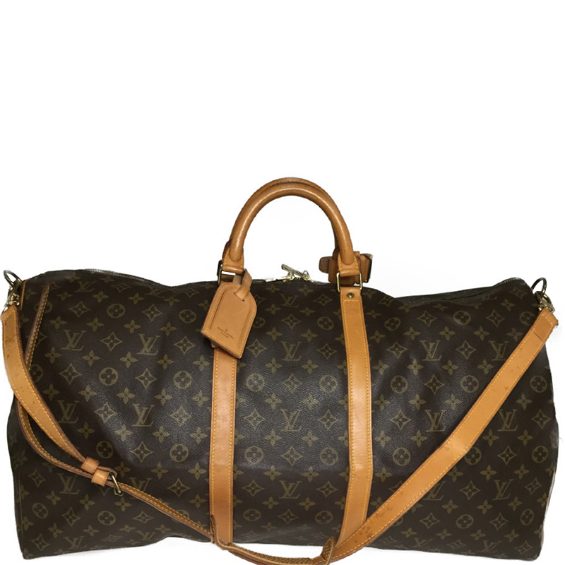 500c1a032924 Buy Louis Vuitton Monogram Canvas Keepall Bandouliere 60 Bag 177622 ...