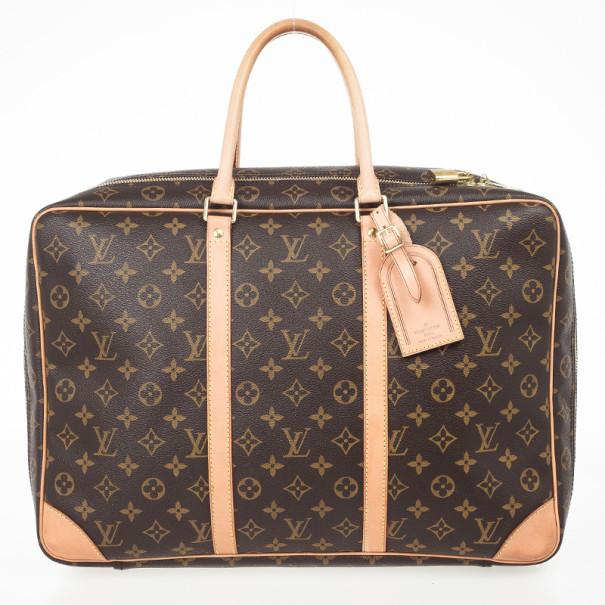 5a38a2f83e5c Louis Vuitton Sirius 45 Brown Monogram Canvas Travel Bag 29061