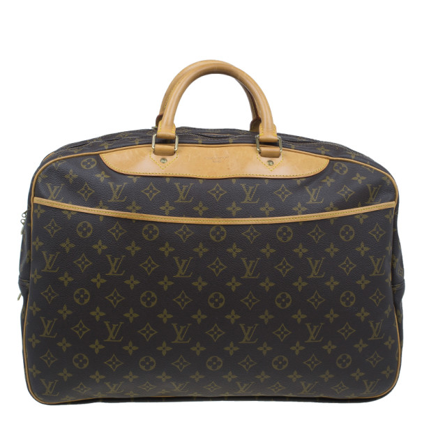 Buy Louis Vuitton Monogram Canvas Alize 2 Poches Travel Bag 3573 At