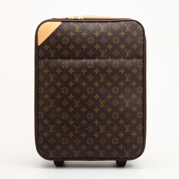 341535d90b Louis Vuitton Monogram Canvas Pegase 45 Cabin Size Luggage