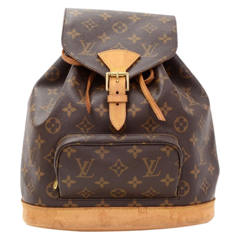 Buy Louis Vuitton Monogram Canvas Montsouris Backpack MM 64315 at best  price  76d7b36681ba5