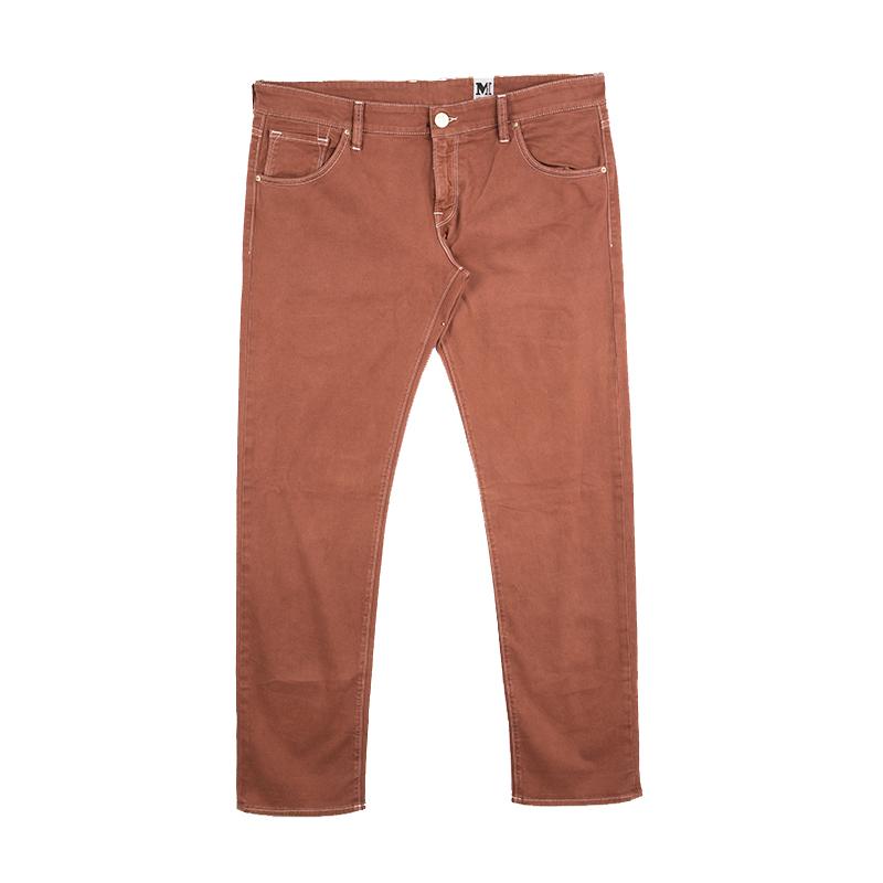 Купить со скидкой M Missoni Burnt Orange Denim Straight Fit Jeans L