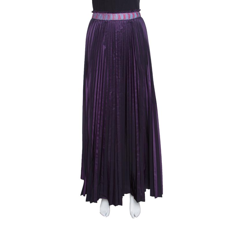 8692553f2d ... M Missoni Purple Accordion Pleated Midi Skirt S. nextprev. prevnext