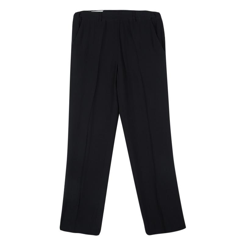 Maison Martin Margiela Black  Loose Fit Trousers L