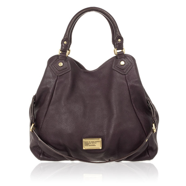 34fa46299d73 ... Marc Jacobs Dark Purple Classic Francesca Large Tote Bag. nextprev.  prevnext