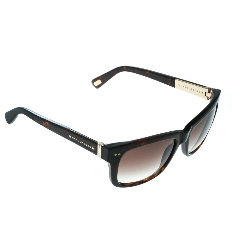 470a01542284 ... Marc Jacobs Havana/ Brown Gradient MJ317S Square Wayfarer Sunglasses.  nextprev. prevnext