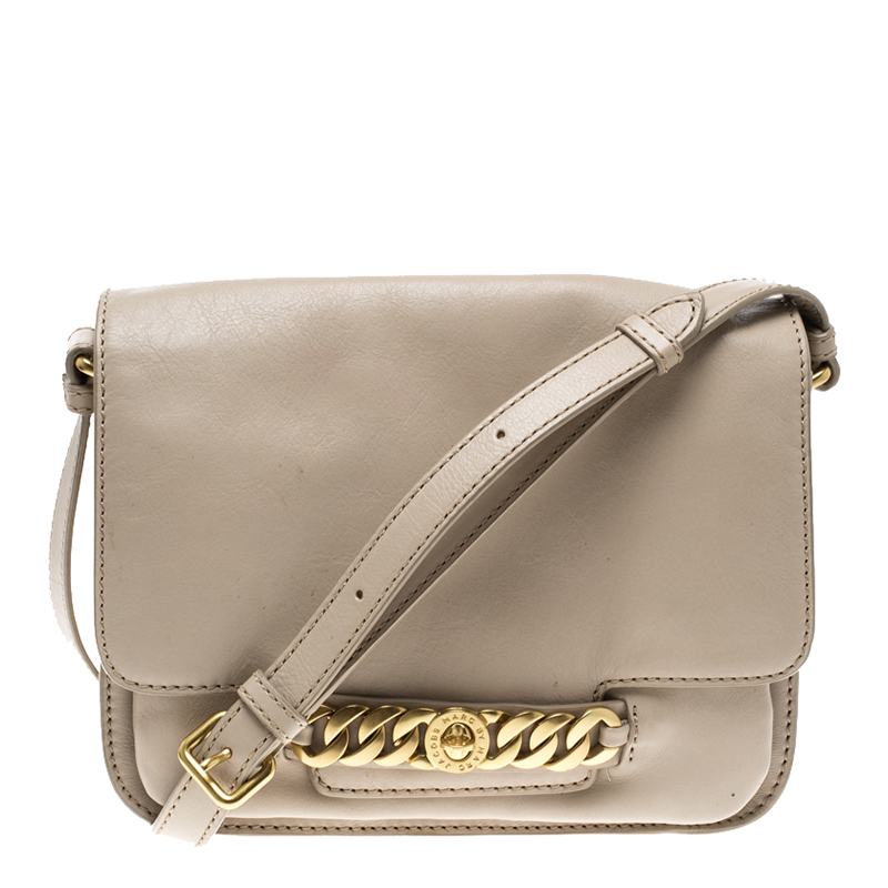 3c4953d3ac30 ... Marc Jacobs Beige Leather Medium Katie Day Crossbody Bag. nextprev.  prevnext