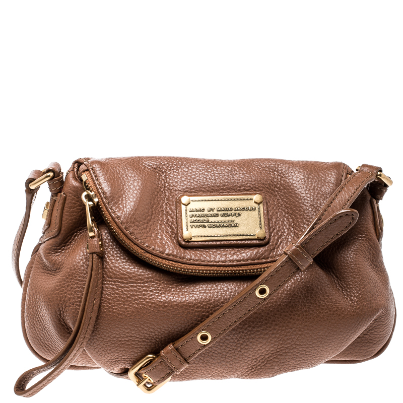 16b6e8c3dd Buy Marc by Marc Jacobs Brown Leather Classic Q Natasha Crossbody ...
