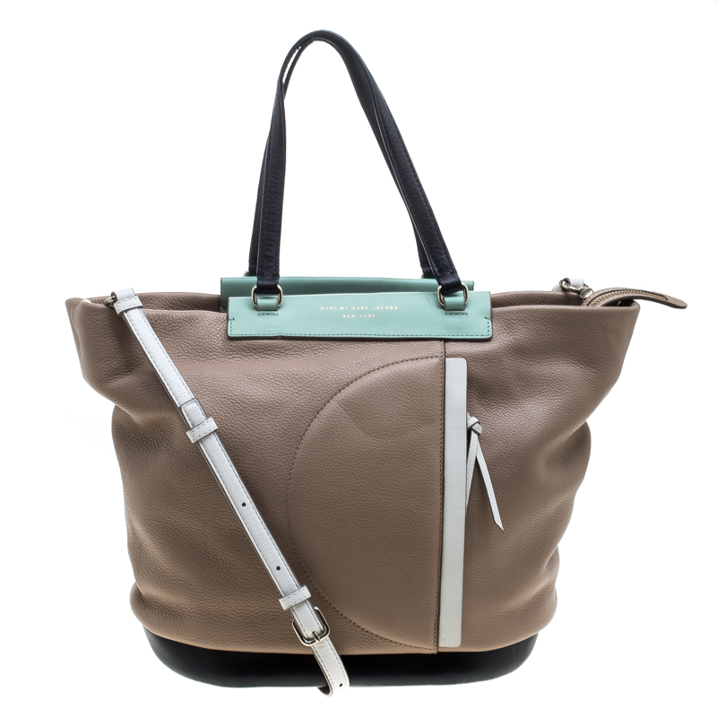 Marc by Marc Jacobs Multicolor Leather Convertible Tote