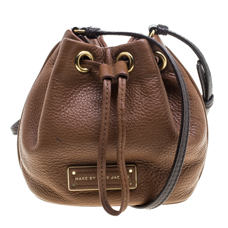 Marc Jacobs Brown Leather Mini Too Hot