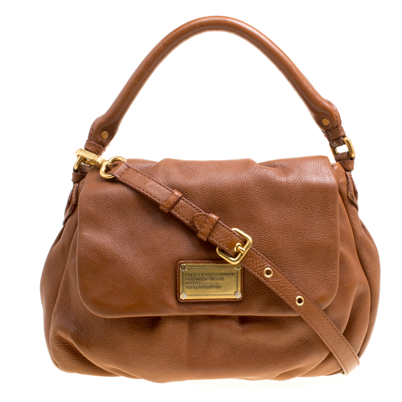 71b5d8a828 ... Marc Jacobs Brown Leather Classic Q Lil Ukita Top Handle Bag. nextprev.  prevnext