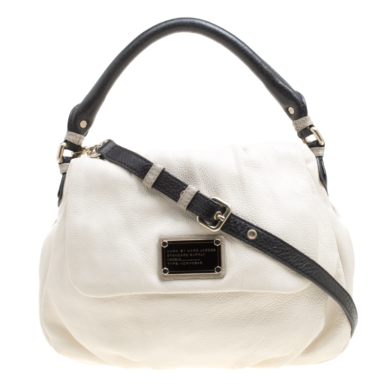 7a4352a0791 ... Marc Jacobs White Leather Classic Q Lil Ukita Top Handle Bag. nextprev.  prevnext