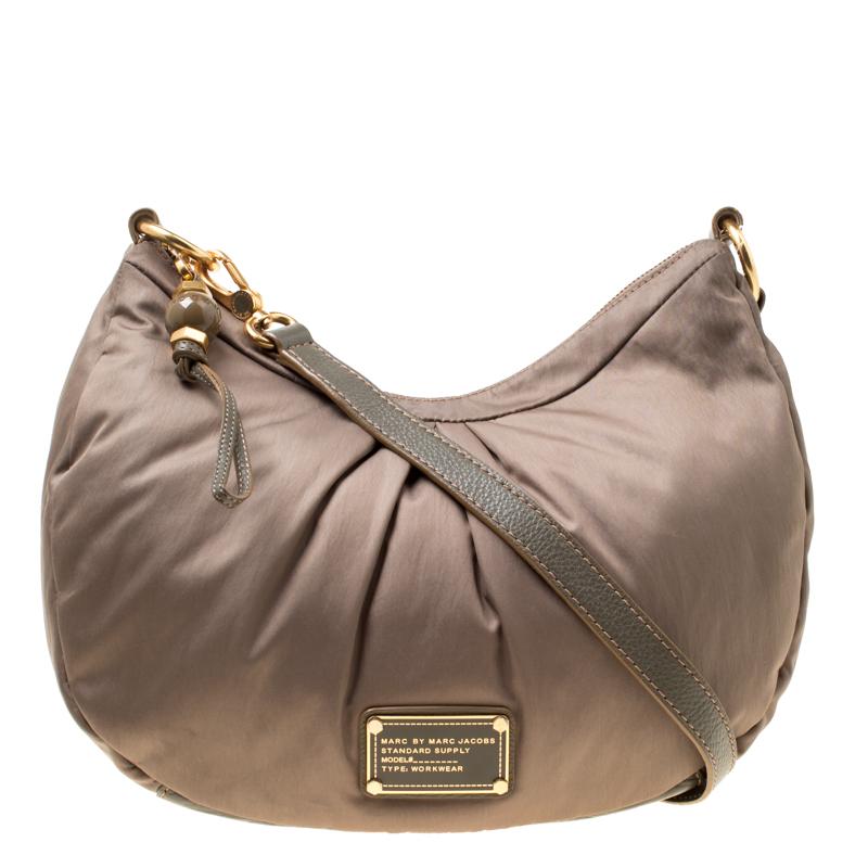 e23176313e52 ... Marc Jacobs Khaki Green Fabric and Leather Shoulder Bag. nextprev.  prevnext