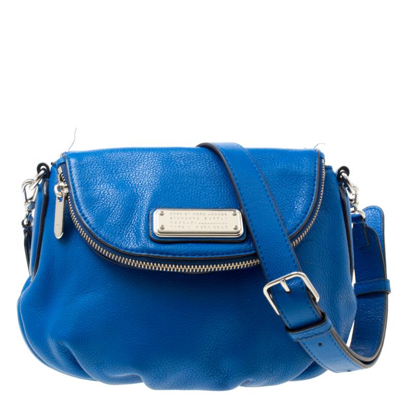 fcc88b05992b ... Marc Jacobs Blue Leather Classic Q Natasha Crossbody Bag. nextprev.  prevnext