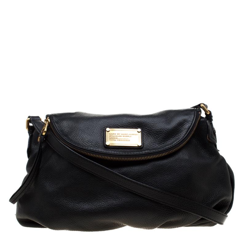 2a237542c ... Marc Jacobs Black Leather Classic Q Natasha Crossbody Bag. nextprev.  prevnext