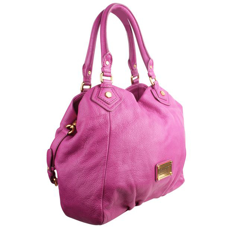 Marc by Marc Jacobs Fushia Leather Tote, Pink