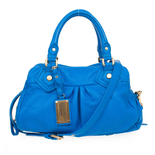 25e95c7fd939 Buy Marc by Marc Jacobs Blue Classic Q Baby Groovee Satchel 30910 at ...