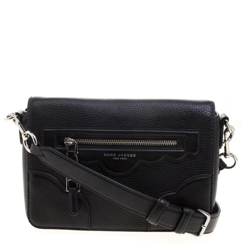 b97995031c41 ... Marc Jacobs Black Leather Small Haze Shoulder Bag. nextprev. prevnext