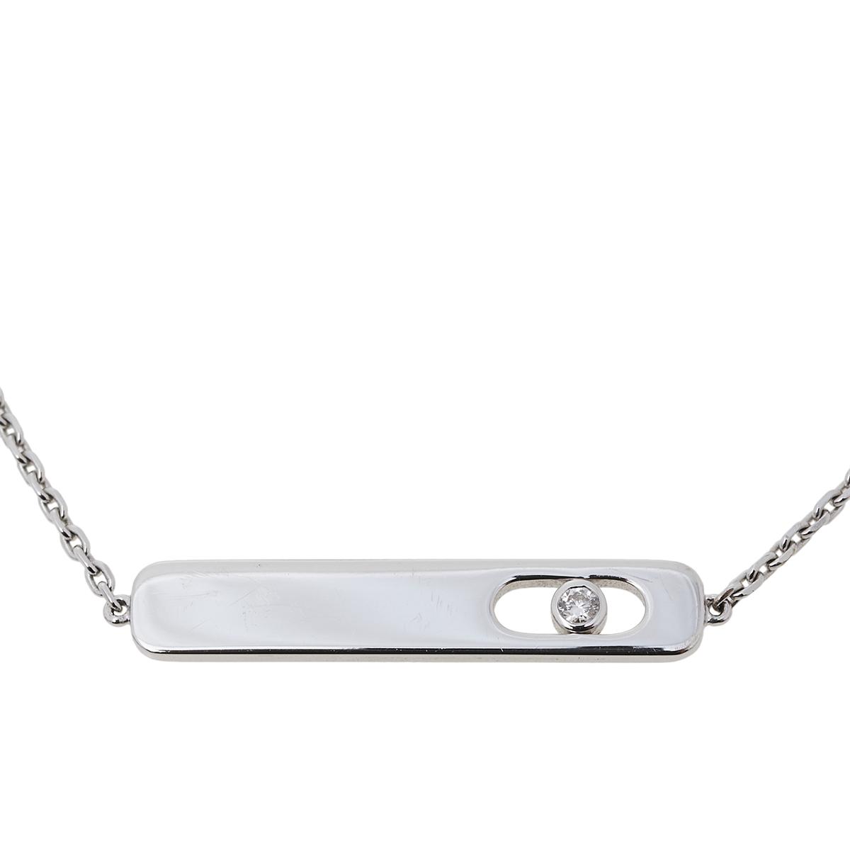 Messika My First Diamond 18K White Gold Bracelet