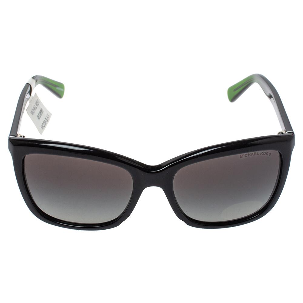 Michael Kors Black/Green MK 2039 Cornelia Wayfarer Sunglasses