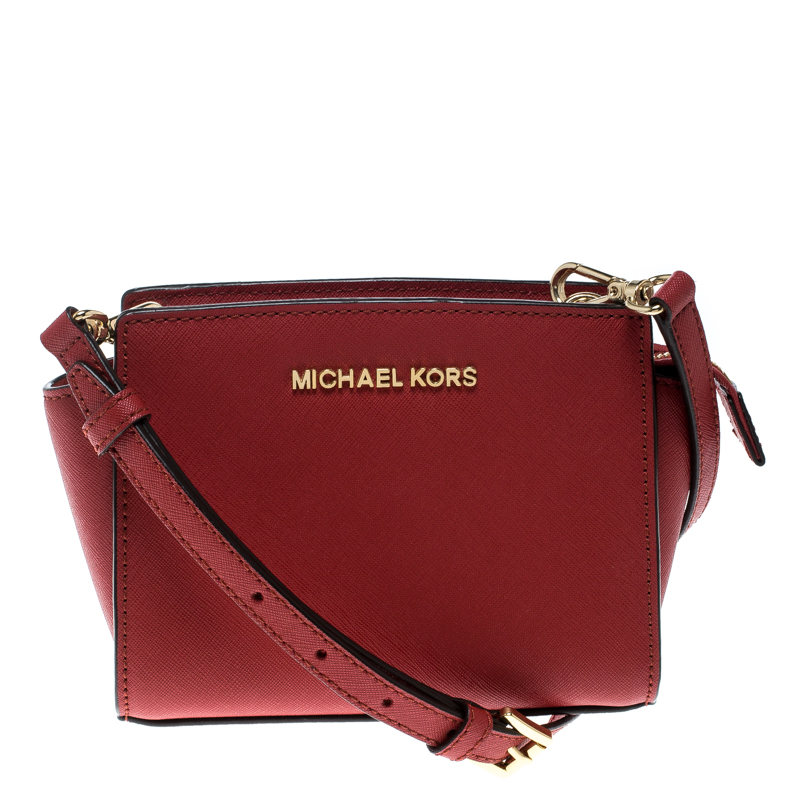 0ad192edf9ce ... coupon for michael kors red saffiano leather mini selma crossbody bag.  nextprev. prevnext 9c4a7