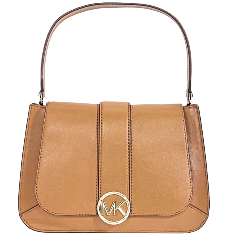 9cc63dbef402e8 MICHAEL Michael Kors Brown Leather Medium Lillie Shoulder Bag. nextprev.  prevnext