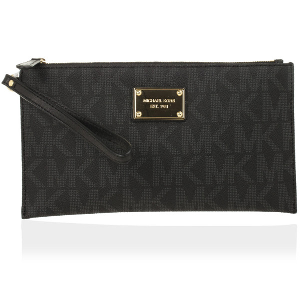 b565baa58fef55 Buy MICHAEL Michael Kors Monogram Clutch Bag 28003 at best price | TLC