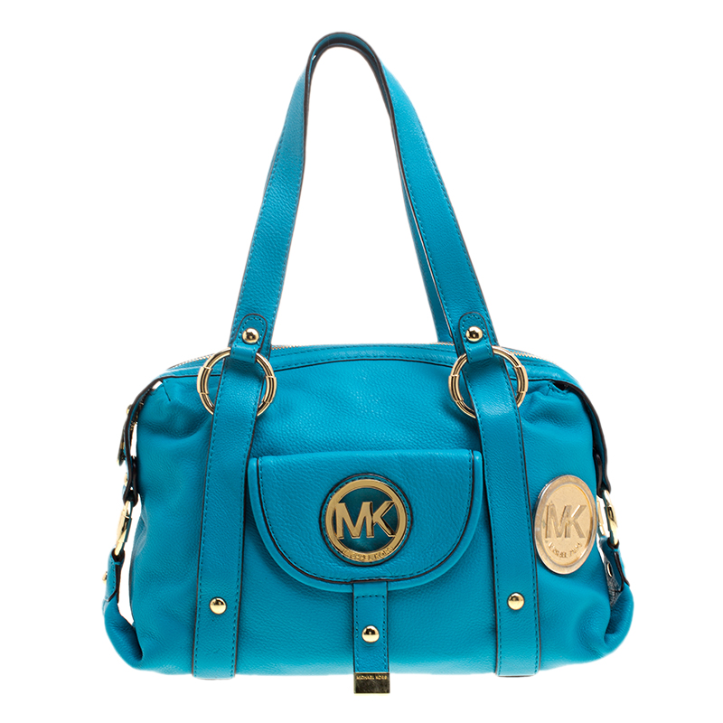 a4c6055a6a26 ... Michael Michael Kors Turquoise Leather Shoulder Bag. nextprev. prevnext