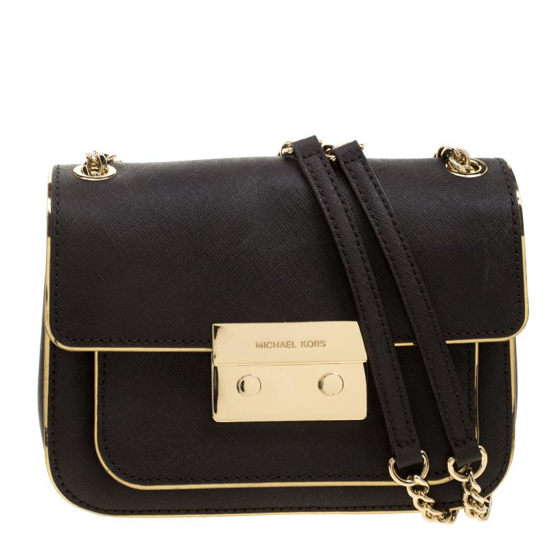 23686bf0abba ... Michael Michael Kors Dark Brown Leather Sloan Shoulder Bag. nextprev.  prevnext